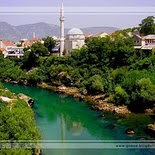 Koski Mehmed Pasha Mosque in Mostar   Bosnia and Hercegowina