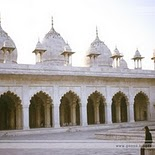 Red Fort in Agra   India (Pearl Mosque)