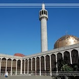 Regent\'s Park Mosque in London   England
