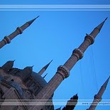 Selimiye Mosque in Edirne   Turkey (nightfall)