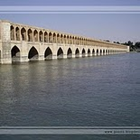 Siosepol Bridge in Isfahan   Iran