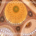 Suleiman Mosque in Istanbul   Turkey (domes)