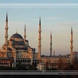 Sultan Ahmed Mosque in Istanbul   Turkey (exterior)